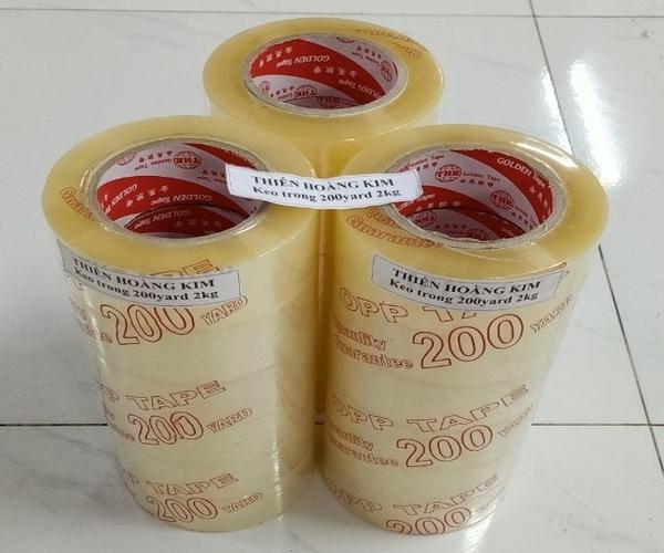 COMBO 3 CÂY BĂNG KEO TRONG 100Y - 1 KG